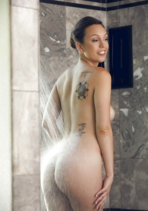 Nude Boobs in Shower Pictures
