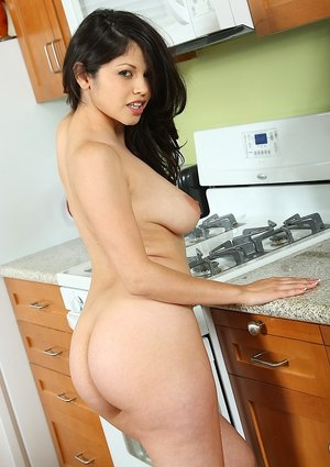 Nude Boobs on Kitchen Pictures